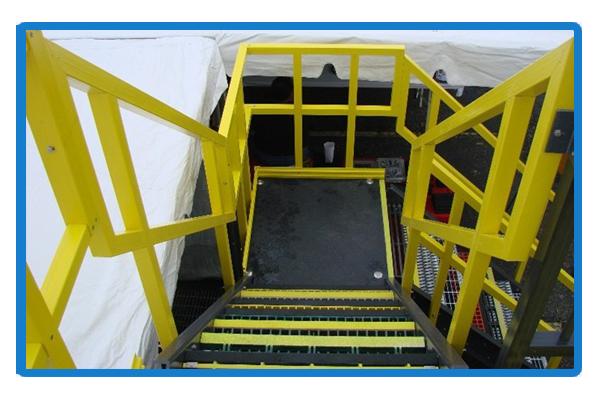 FRP Platform & Handrail OCEANFRP 01