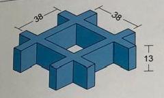 NO.01 H13 Mesh size38